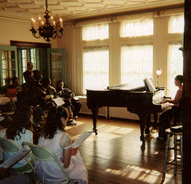 Recital at Cheney Mansion in Oak Park